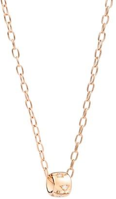 Pomellato Rose Gold and Diamond Necklace