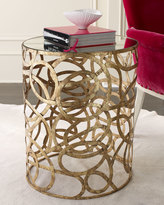 Horchow Scroll Side Table
