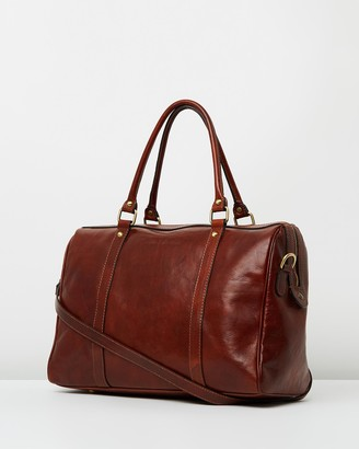 Florence - Brown Leather bags - The Horizon Bag - Size One Size at The Iconic