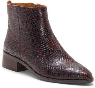 Lucky Brand Lenree Almond Toe Bootie