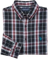 U.S. Polo Assn. Men's Button-Down Flannel Shirt