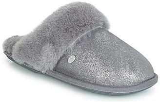 Just Sheepskin DUCHESS women's Flip flops in Grey