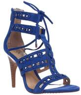 Vince Camuto Kazie Studded Lace Up Heeled Sandals, Riviera.