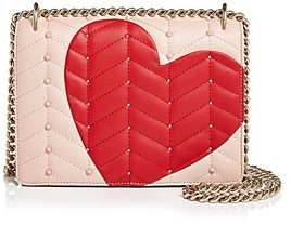 Kate Spade Heart It Marci Convertible Leather Shoulder Bag