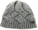 Burberry Cable Knit Wool Beanie