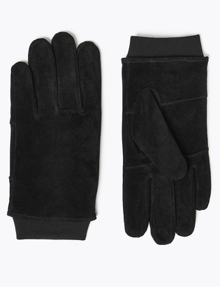 Marks and Spencer Suede Gloves