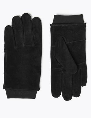 Marks and Spencer Suede Gloves