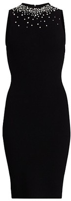 Milly Embellished Sleeveless Bodycon Dress