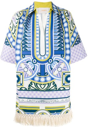 La DoubleJ Honolulu printed tunic