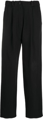 Kenzo High-Waisted Cropped Trousers