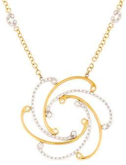 Charriol 18K Two-Tone Diamond Cignature Necklace