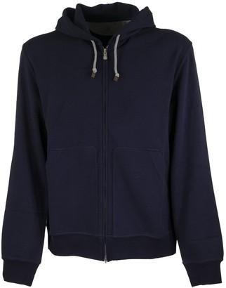 Brunello Cucinelli Cotton Interlock Zip-front Hooded Sweatshirt