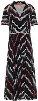 Missoni Printed stretch-cotton shirt dress