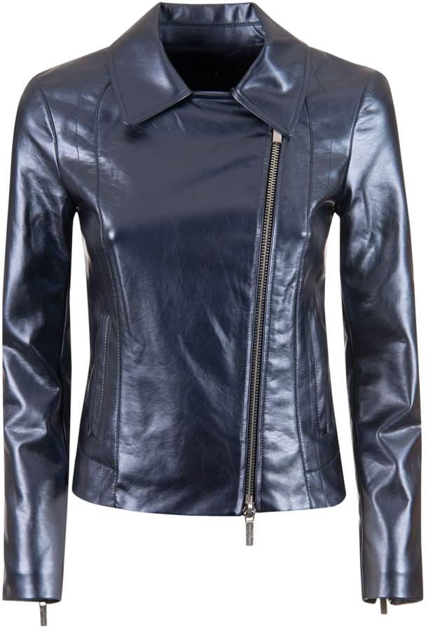 c7ee99e5a3c1 Armani Collezioni Front Zip Women's Jackets - ShopStyle