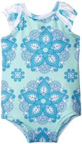 Masala Flutter One Piece (Baby) - Turquoise - 3-6 Months
