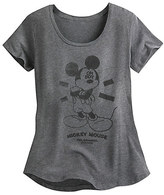 Disney Mickey Mouse Oh Boy Tee for Juniors by Neff - Gray