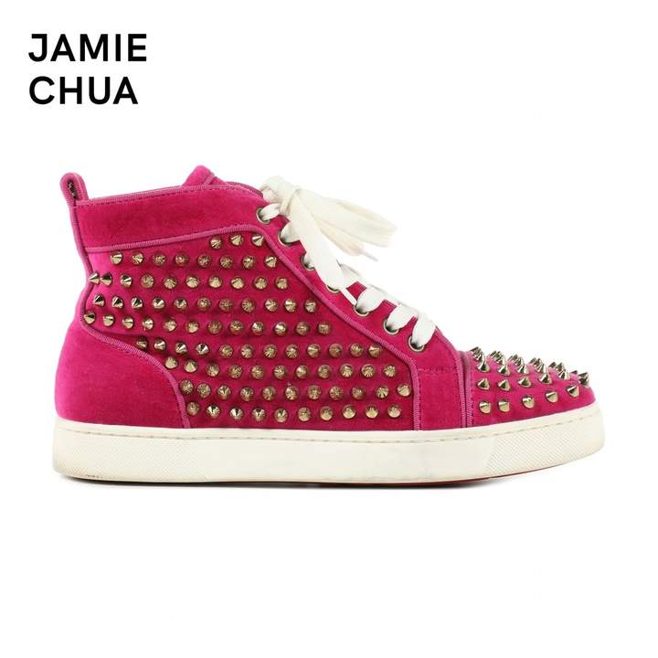 6a006e0bc Christian Louboutin Trainers For Women - ShopStyle UK