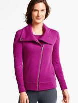 Talbots Brushed Asymmetrical-Zip Jacket