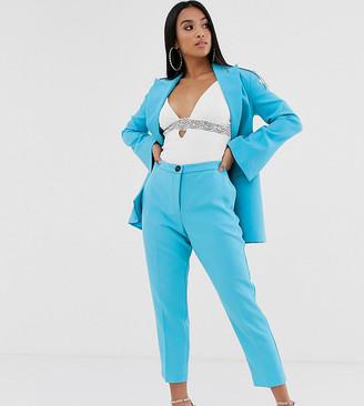 Asos DESIGN Petite pop slim suit pants