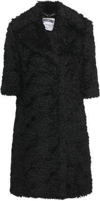 Moschino Mohair And Cotton-blend Coat