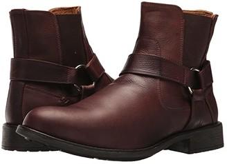 Massimo Matteo Biker Boot (Brown) Men's Boots
