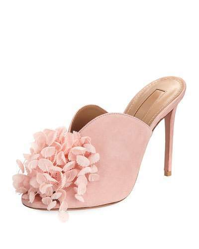 Aquazzura Lily of the Valley Mule