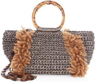 Saks Fifth Avenue Crochet Satchel