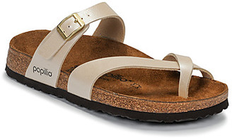 Papillio TABORA women's Mules / Casual Shoes in Beige