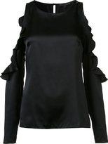 Cushnie et Ochs cut-out ruffle blouse