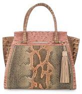 Brahmin Priscilla Pachanga Leather Satchel