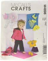 Mccall's M4896 18-Inch Doll Clothes