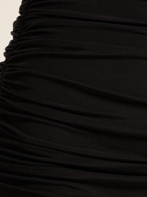 Thumbnail for your product : Norma Kamali Bill High-rise Bikini Briefs - Black