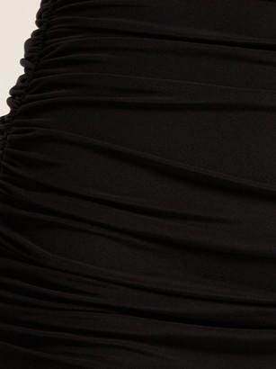 Norma Kamali Bill High-rise Bikini Briefs - Black
