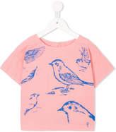 Bobo Choses bird print blouse