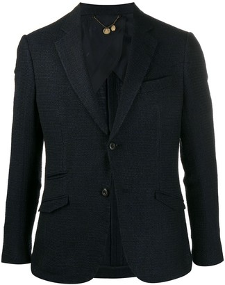 Maurizio Miri Long Sleeve Knitted Blazer