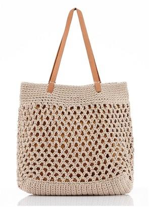 Mary And Marie Pty Ltd Mykonos Crochet Tote