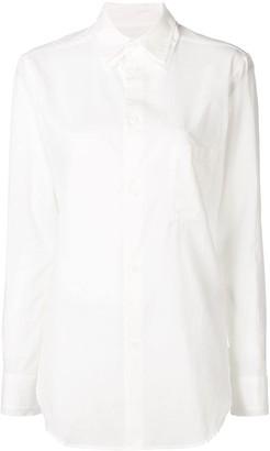 Y's Plain Pocket Shirt