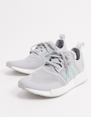 adidas NMD R1 sneakers in gray