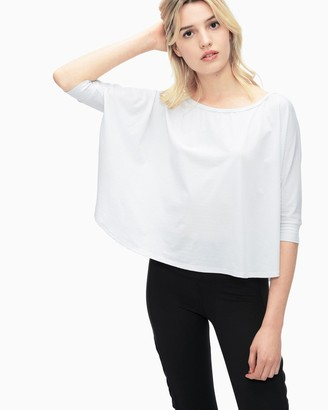 Splendid Yoga Dolman Crop Top