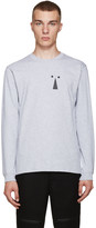 Perks And Mini Grey Keyhole T-Shirt