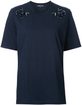 Markus Lupfer beaded butterfly T-shirt