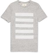 Striped Mélange Cotton-Jersey T-Shirt