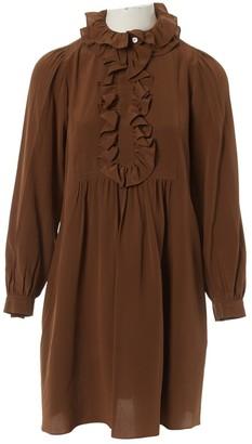 Chloã© ChloA Brown Silk Dresses