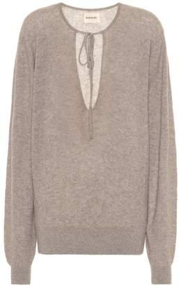 KHAITE Emma stretch cashmere sweater