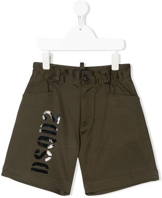 DSQUARED2 Print Bermuda Shorts