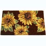Asstd National Brand Sunflowers Rectangular Doormat - 18X30