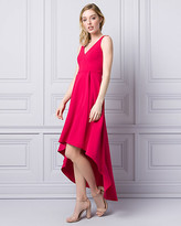 Le Château Knit Crêpe V-Neck Gown