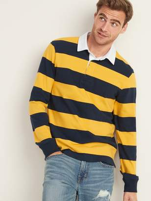 Old Navy Bold-Stripe Long-Sleeve Rugby for Men