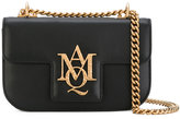 Alexander McQueen Insignia satchel - women - Calf Leather/Leather - One Size