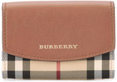Burberry Horseferry check wallet - women - Calf Leather/Polyester - One Size